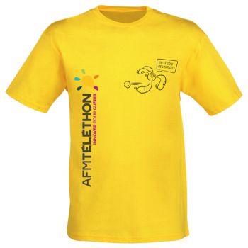 Le T-shirt Téléthon