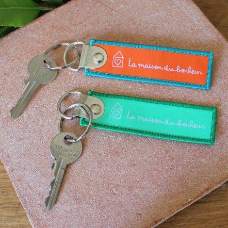 Porte-clés bonheur