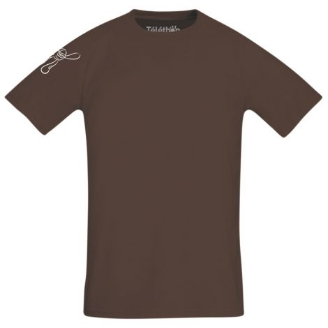 Le tee shirt chocolat